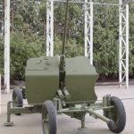25-мм автоматическая зенитная пушка 72-К образца 1940 года в музее Победы на Поклонной горе
