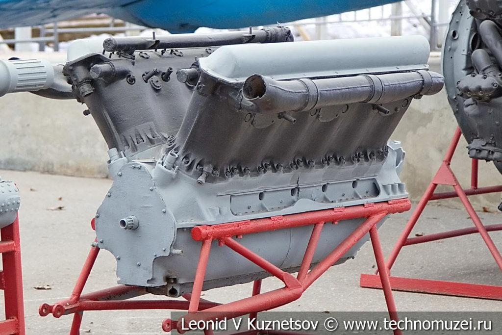 Авиационный двигатель Allison V-1710 1929 года в музее Победы на Поклонной горе
