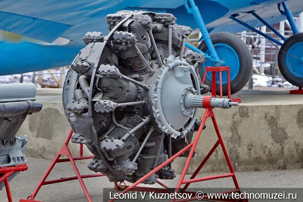 Авиационный двигатель М-82 (АШ-82) 1941 года в музее Победы на Поклонной горе