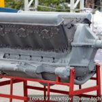 Авиационный двигатель М-103 в музее Победы на Поклонной горе