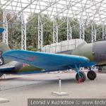Легкий бомбардировщик-разведчик Су-2 1937 года в музее Победы на Поклонной горе