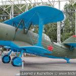Истребитель ДИ-6 1934 года в музее Победы на Поклонной горе