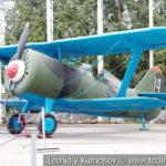 Истребитель И-15бис 1935 года в музее Победы на Поклонной горе