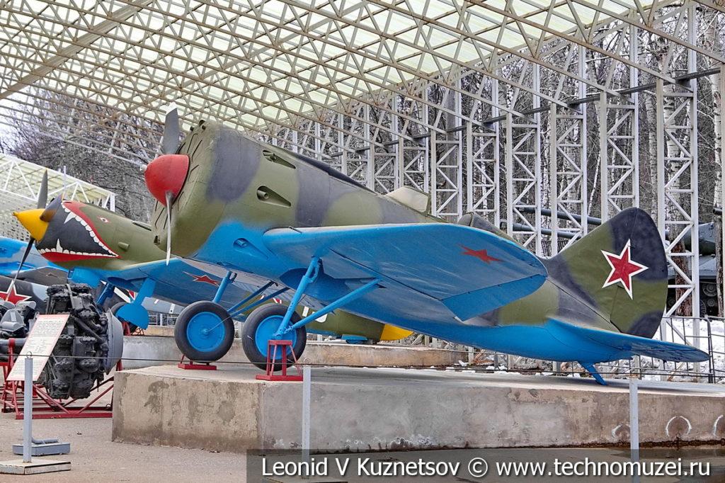 Истребитель И-16 тип 10 1933 года в музее Победы на Поклонной горе