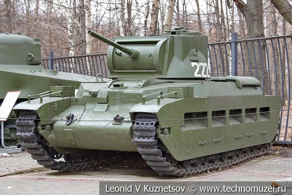Средний танк Matilda IV 1941 года в музее Победы на Поклонной горе