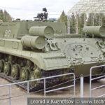 152-мм САУ ИСУ-152 1943 года в музее Победы на Поклонной горе