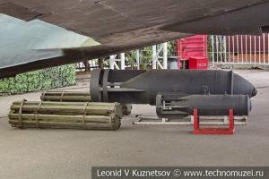 Авиационные бомбы в музее Победы на Поклонной горе