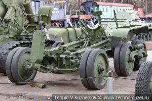 Орудийная повозка Бр-10 в музее Победы на Поклонной горе