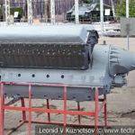 Авиационный двигатель АМ-38 1939 года в музее Победы на Поклонной горе