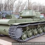 Тяжелый танк КВ-1с 1942 года в музее Победы на Поклонной горе