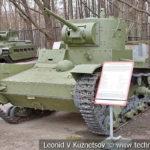 Однобашенный танк Т-26 1933 года в музее Победы на Поклонной горе