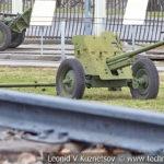 45-мм противотанковая пушка М-42 образца 1942 года в музее Победы на Поклонной горе