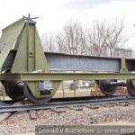 Макет комбинированного путеразрушителя Крюк 1943 года в музее Победы на Поклонной горе