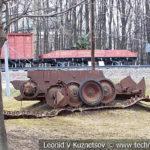 Фрагменты подбитого немецкого танка T-V Pz Kpfw V Panther Ausf A 1943 года в музее Победы на Поклонной горе