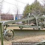 Прицепной грейдер ГТМ в музее Победы на Поклонной горе