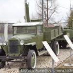 ГАЗ ММ 1942 года с очажной кухней ОПК-150 1943 года в музее Победы на Поклонной горе