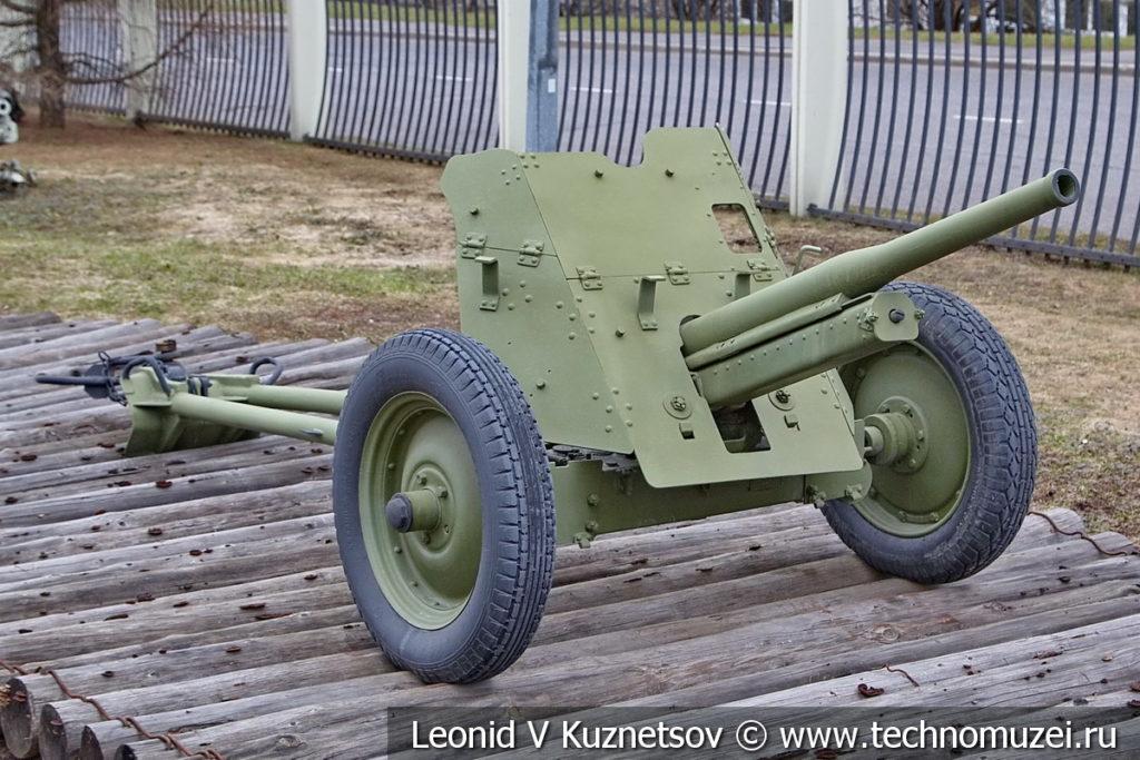 45-мм противотанковая пушка 53-К образца 1937 года в музее Победы на Поклонной горе