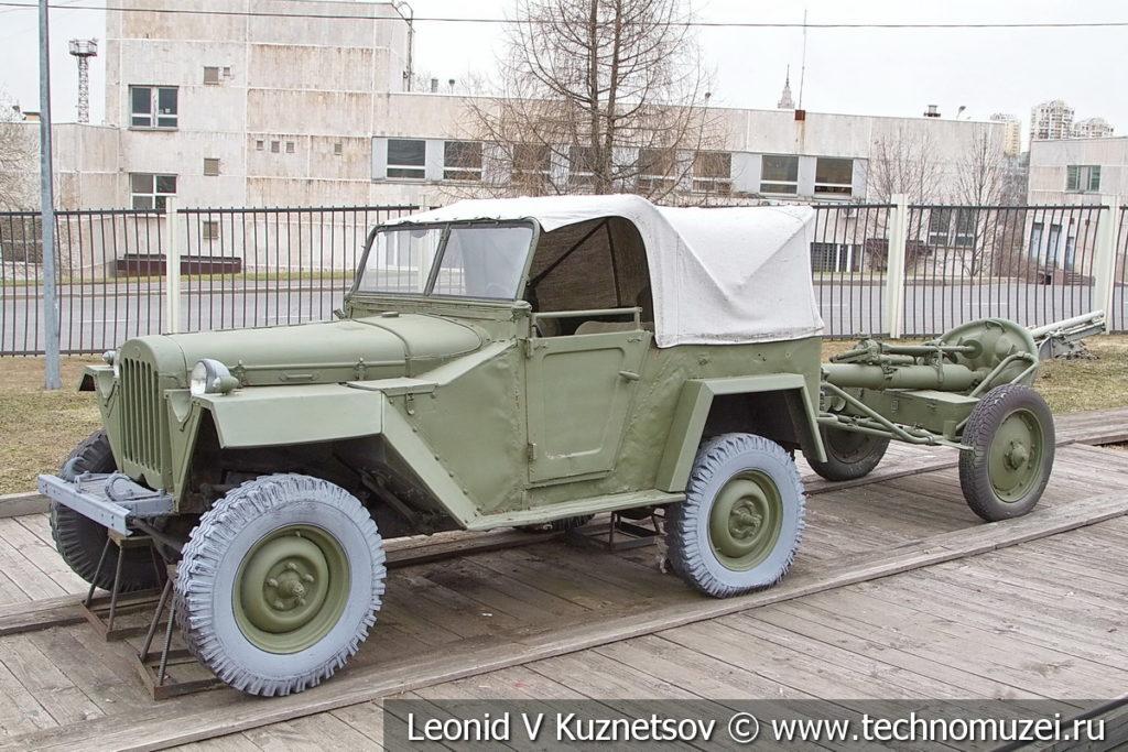 Автомобиль ГАЗ-67Б 1944 года в музее Победы на Поклонной горе
