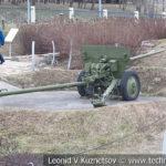 57-мм противотанковая пушка ЗиС-2 образца 1943 года в музее Победы на Поклонной горе