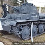 Чешский танк Praga-38T Pz Kpfw 38(t) Ausf E-F Sd Kfz 140 в музее Победы на Поклонной горе