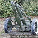 120-мм полковой миномёт образца 1938 года ПМ-38 в музее Победы на Поклонной горе