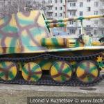 Немецкая 75-мм САУ Marder III Ausf M в музее Победы на Поклонной горе
