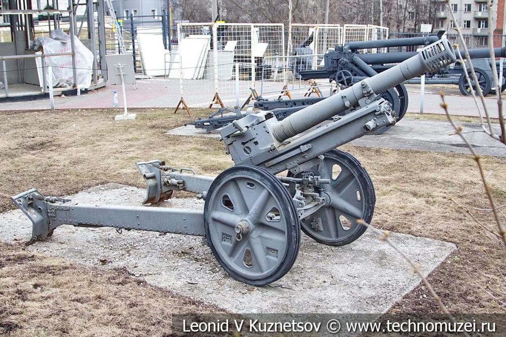 Немецкая 75-мм горная пушка Geb G 36 в музее Победы на Поклонной горе