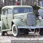Легковой автомобиль ГАЗ М-1 1936 года в музее Победы на Поклонной горе