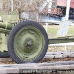 76-мм полковая пушка 52-П-353 образца 1927 года с передком в музее Победы на Поклонной горе