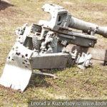 Разбитые немецкие 75-мм горные пушки Geb G 36 в музее Победы на Поклонной горе
