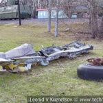 Фрагменты сбитого немецкого бомбардировщика Junkers Ju-88 в музее Победы на Поклонной горе