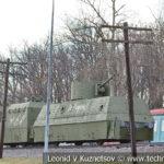 Деревянная опора воздушной линии связи в музее Победы на Поклонной горе