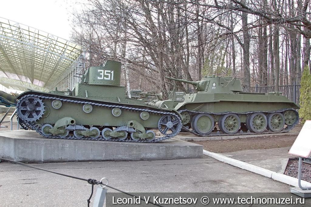 Бронетехника в музее Победы на Поклонной горе