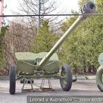 57-мм опытная противотанковая пушка ЛБ-3 образца 1946 года в музее Победы на Поклонной горе