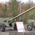 100-мм полевая пушка БС-3 образца 1944 года в музее Победы на Поклонной горе