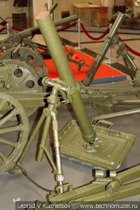 Финский 81-мм миномет Стокс-Брандт модель 1934 года в музее Победы на Поклонной горе