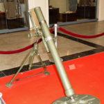 82-мм батальонный миномёт БМ-37 (52-М-832Ш) образца 1937 года в музее Победы на Поклонной горе