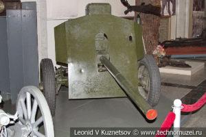 Немецкое 81,4-мм опытное безоткатное орудие начала 1940-х годов в музее Победы на Поклонной горе