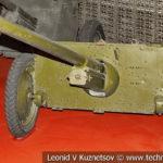 45-мм опытная противотанковая пушка М-5 в музее Победы на Поклонной горе
