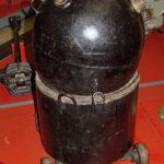 Якорная мина ЯМ 1943 года в музее Победы на Поклонной горе