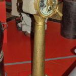 Машинный телеграф поста управления кораблем в музее Победы на Поклонной горе