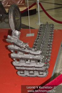 Фрагмент гусеницы немецкого танка T-III в музее Победы на Поклонной горе