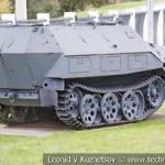 Чешский бронетранспортер OT-810 в музее Победы на Поклонной горе