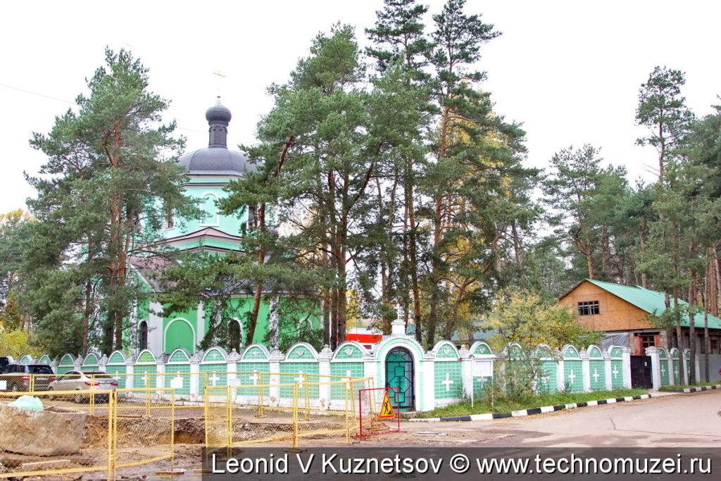 Церковь Саввы Сторожевского в микрорайоне Заря в Балашихе