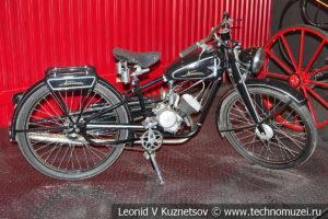 Мотоцикл Киевлянин К1-Б в автомузее Моторы Октября в Москве