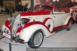Кабриолет Hudson Eight 1936 года в автомузее Моторы Октября в Москве