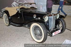 MG TA 1936 года в автомузее Моторы Октября в Москве