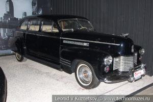 Cadillac Series 75 Fleetwood Sedan 1941 года в автомузее Моторы Октября в Москве