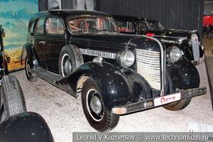 ЗиС-101А 1940 года в автомузее Моторы Октября в Москве