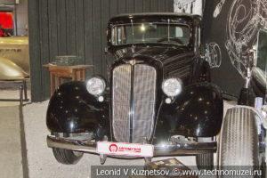 Buick Series 40 седан 1935 года в автомузее Моторы Октября в Москве